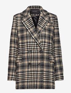 ALBANY BLAZER JACKET - wool jackets - grey check