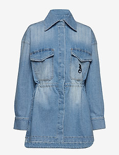 BOLEY JACKET - LIGHT BLUE PIN
