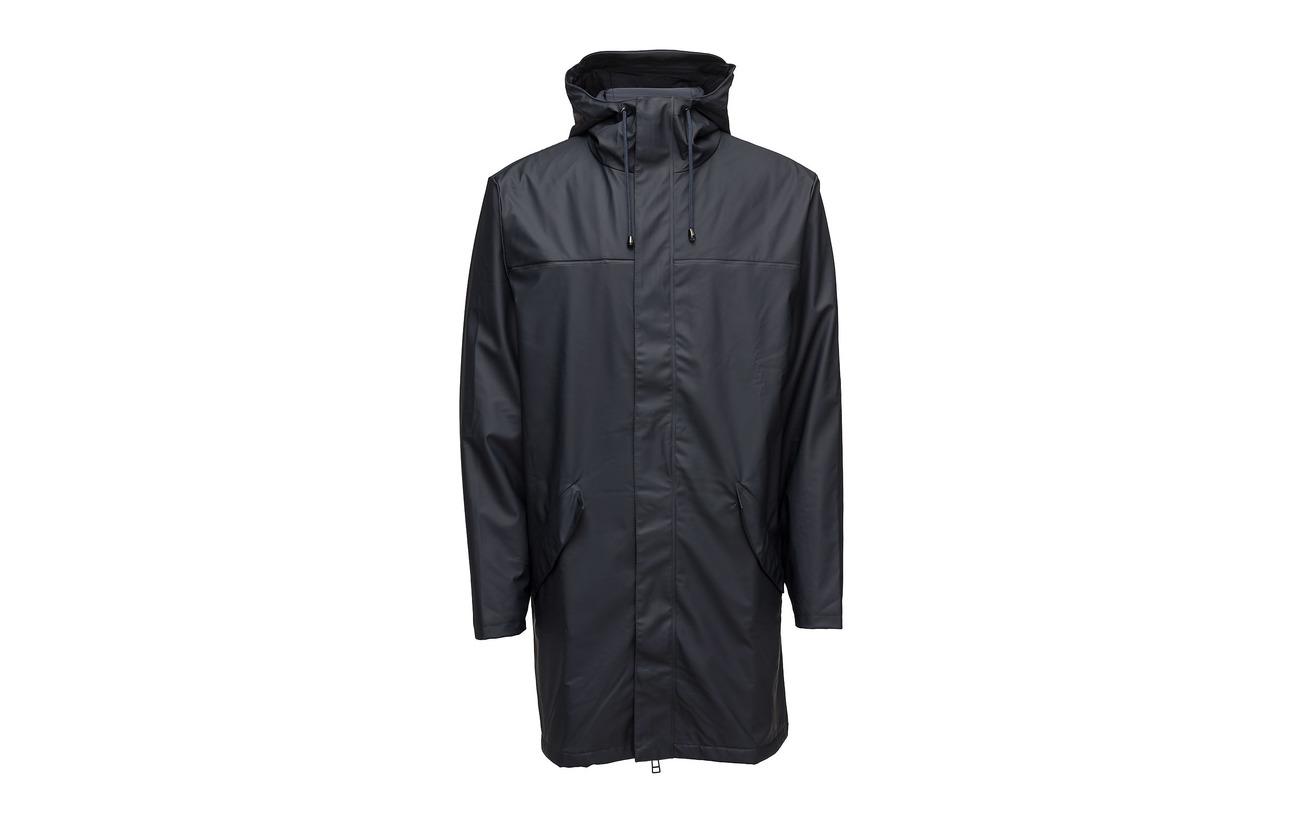 Polyurethan Jacket 50 Black 01 Polyester Alpine Rains Fxqpzz