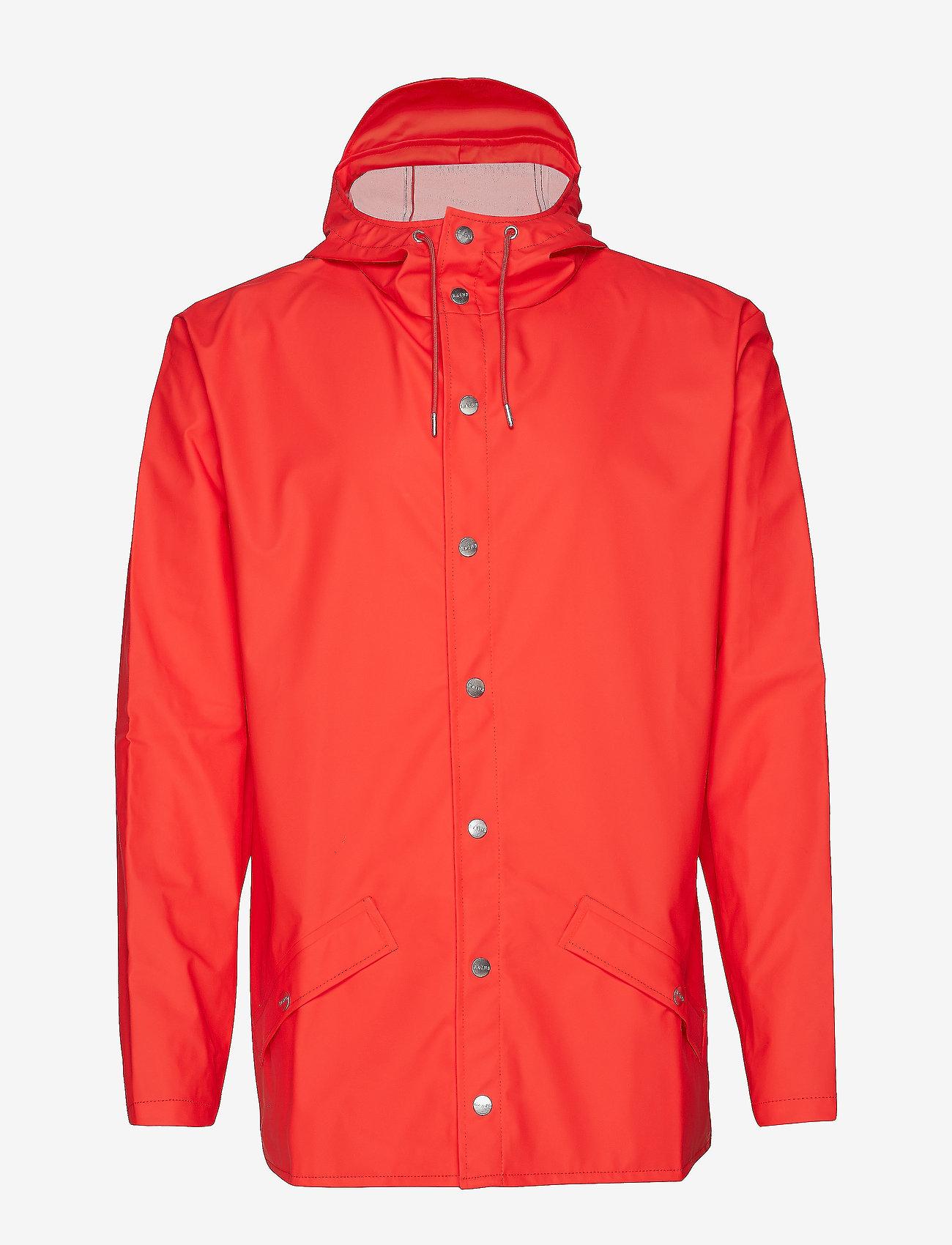 Rains - Jacket - regenbekleidung - red - 1