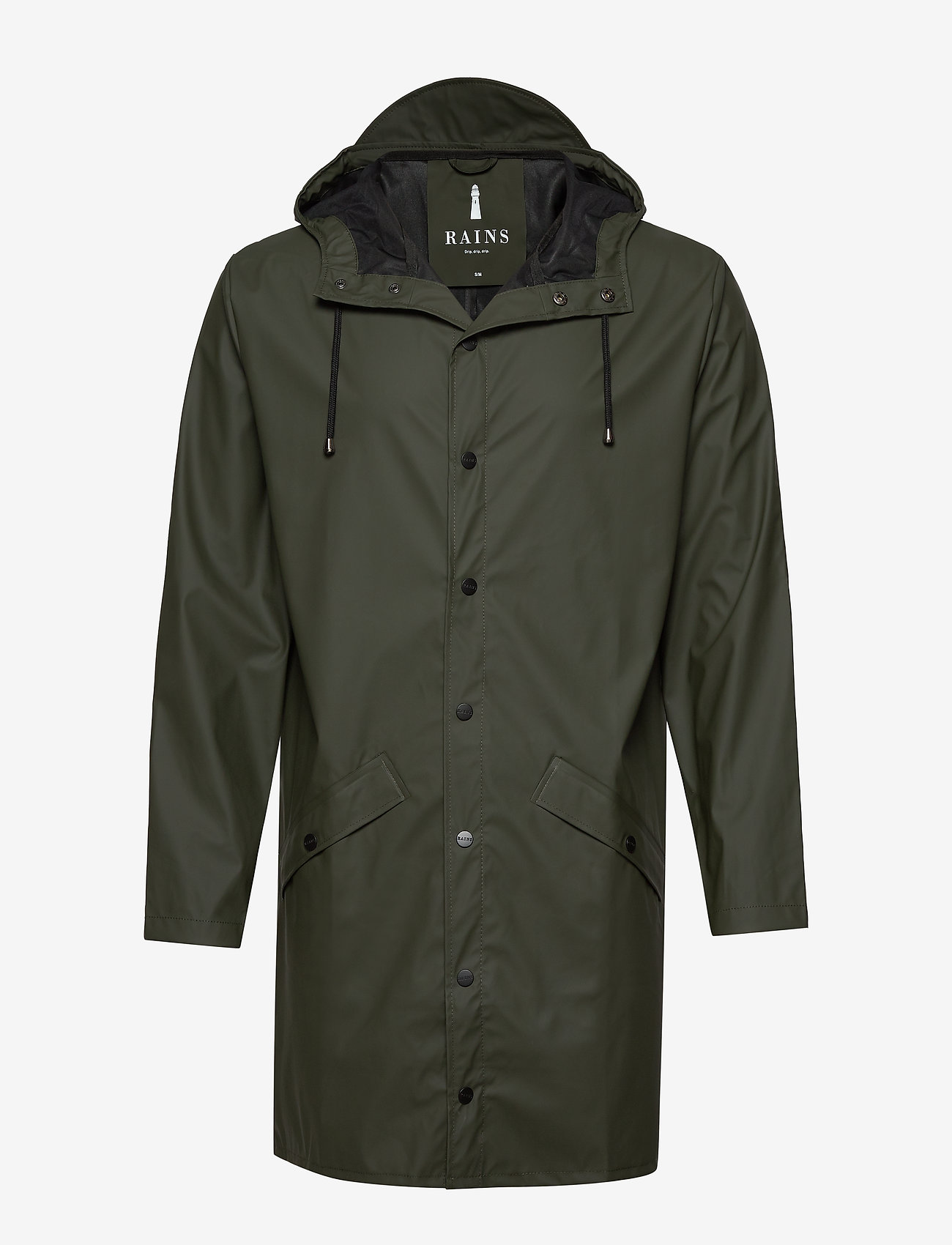 Rains - Long Jacket - regenbekleidung - 03 green - 1