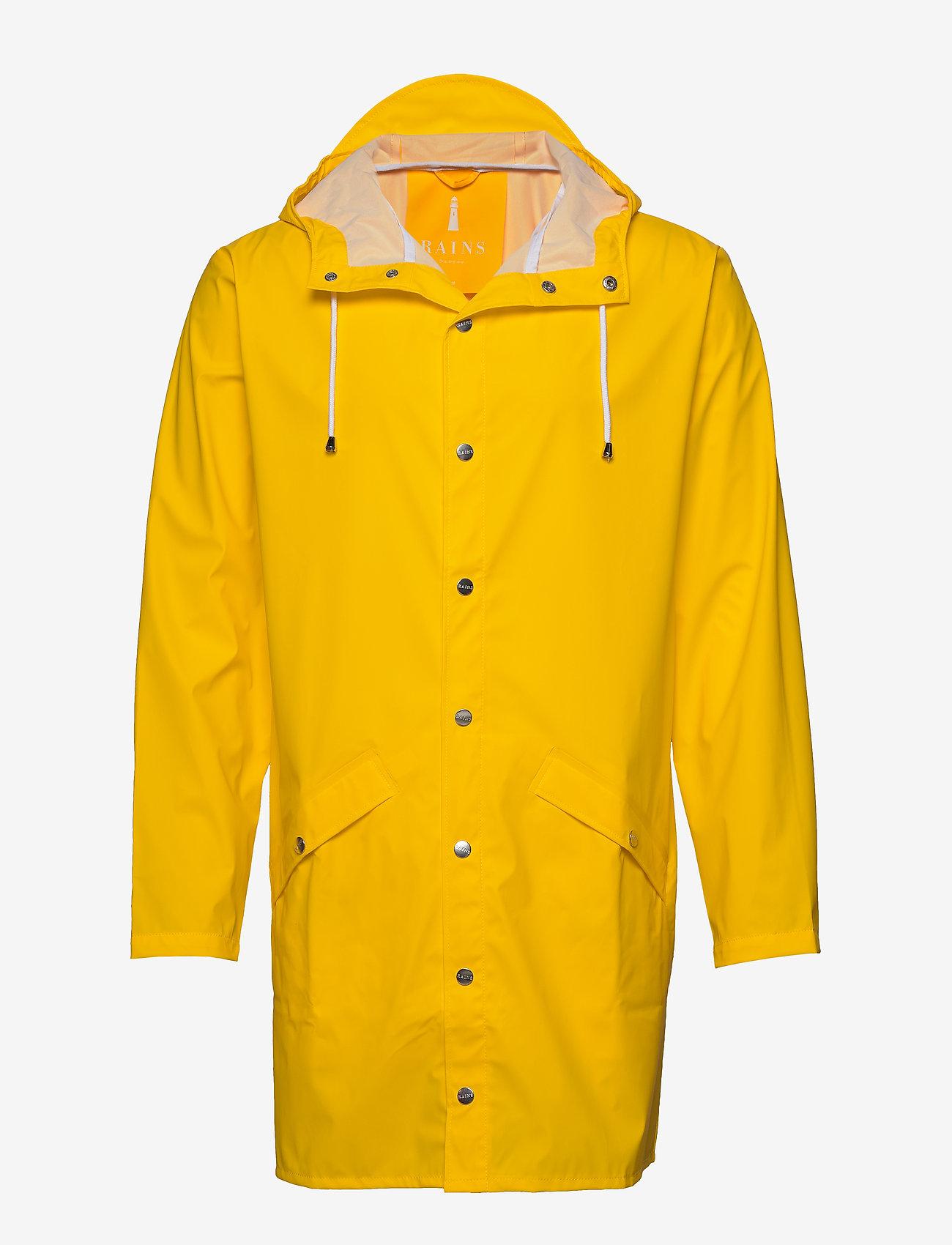 Rains - Long Jacket - regenbekleidung - 04 yellow - 1