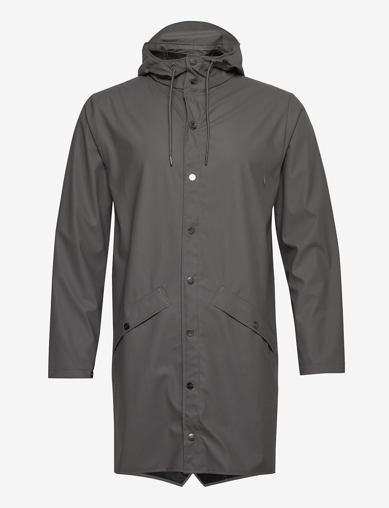 Rains - Long Jacket - regenbekleidung - 18 charcoal - 1