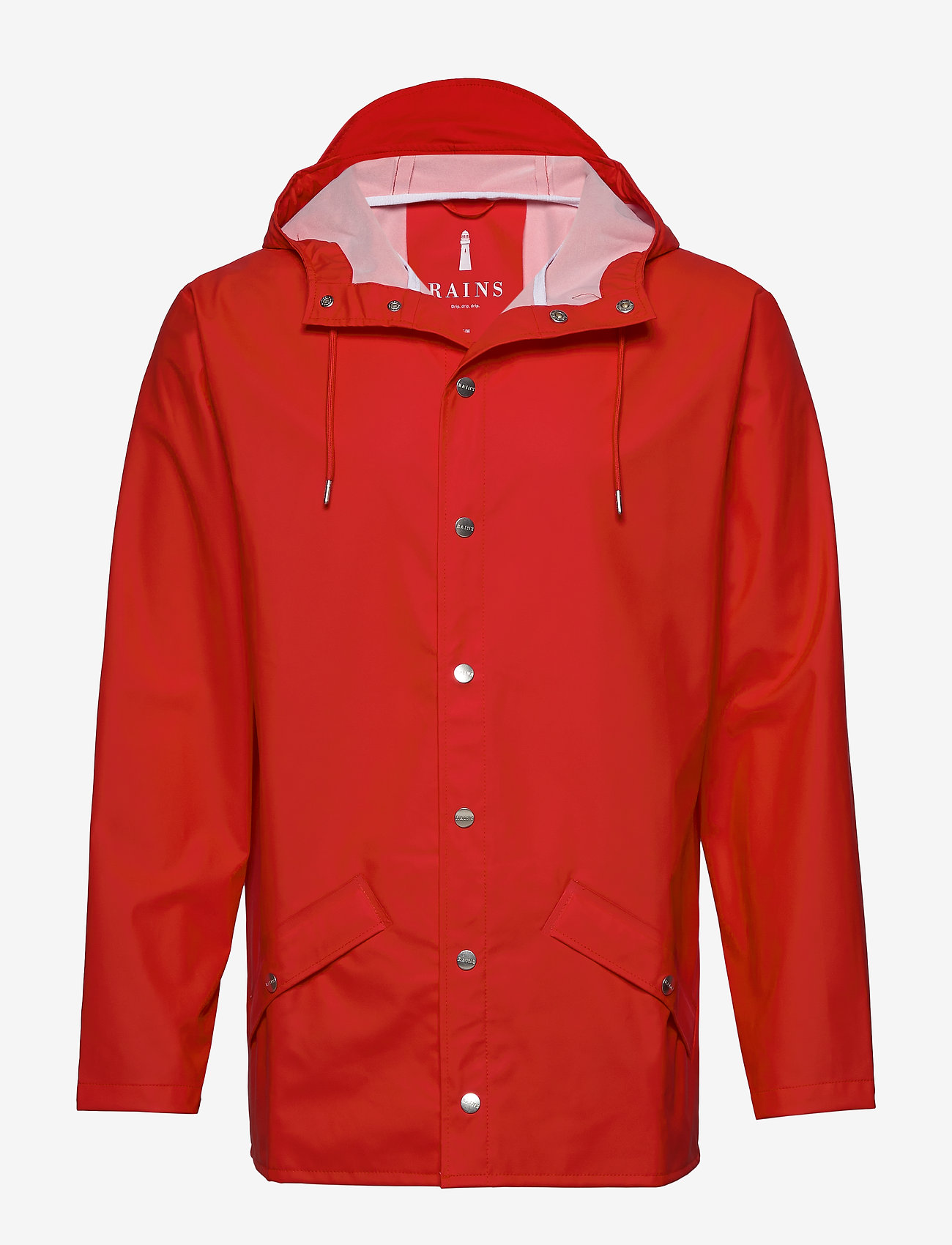 Rains - Long Jacket - regenbekleidung - red - 0