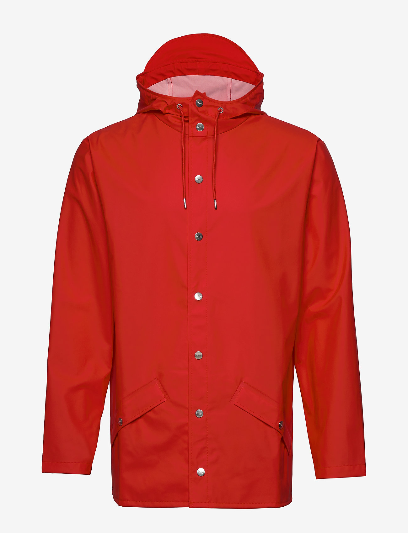 Rains - Long Jacket - regenbekleidung - red - 1