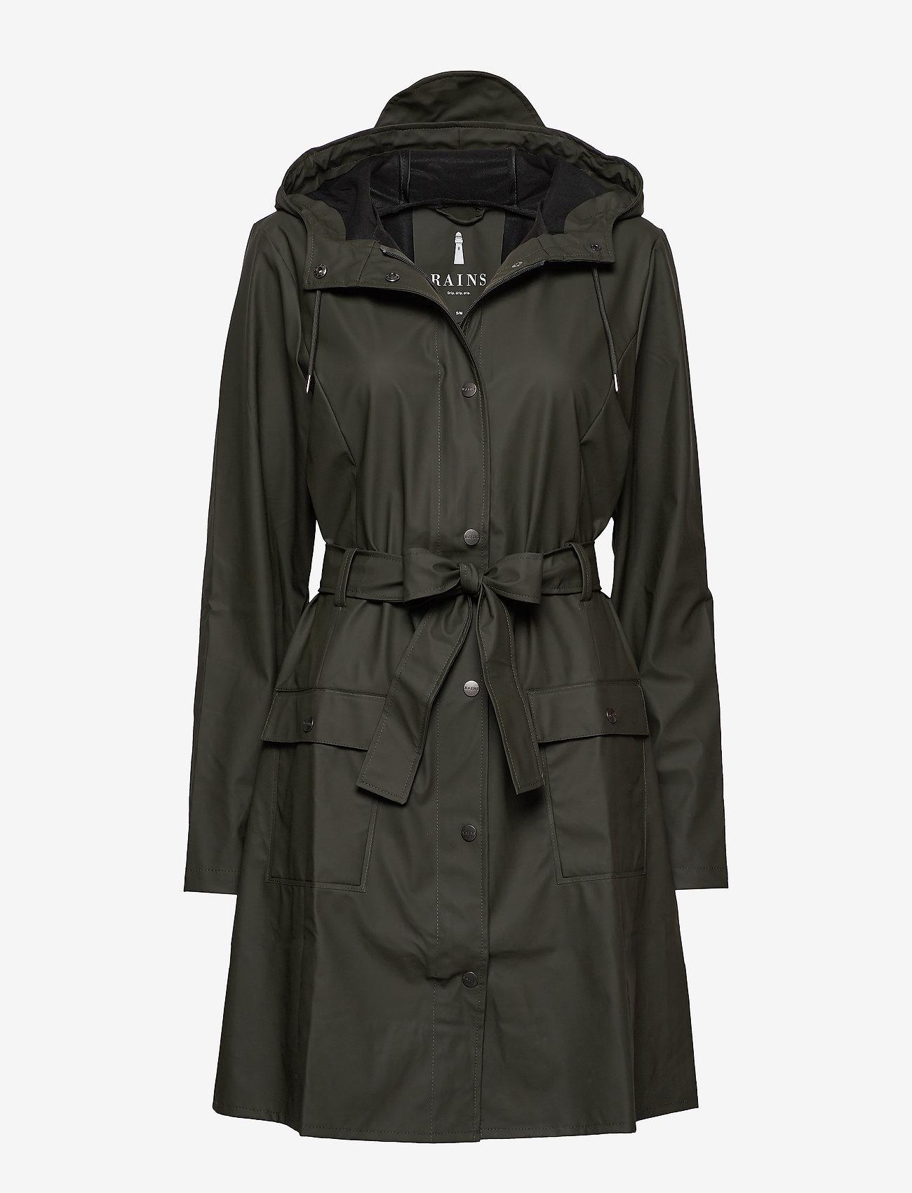 Rains - Curve Jacket - manteaux de pluie - 03 green - 0