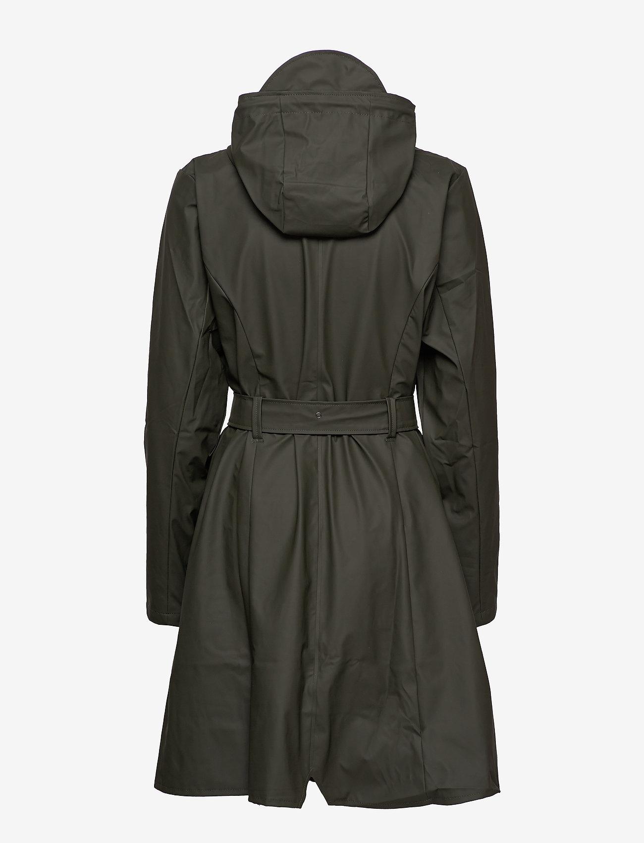 Rains - Curve Jacket - manteaux de pluie - 03 green - 1