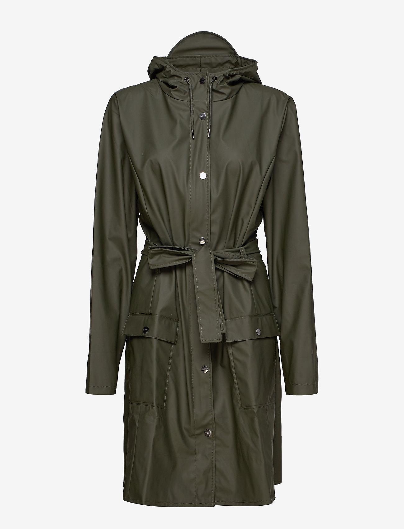 Rains - Curve Jacket - regenbekleidung - 03 green - 1