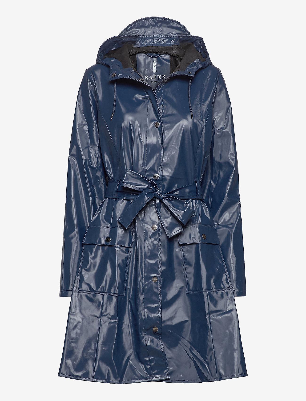 Rains - Curve Jacket - regenbekleidung - 07 shiny blue - 0