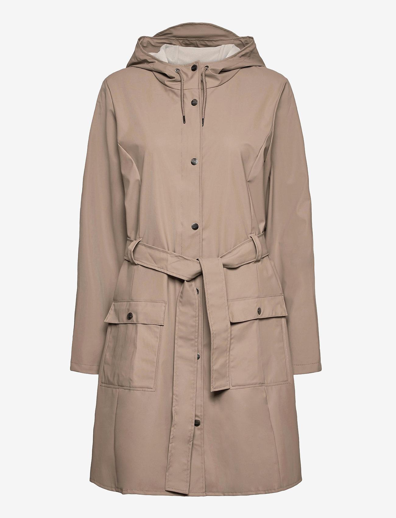 Rains - Curve Jacket - manteaux de pluie - 17 taupe - 0