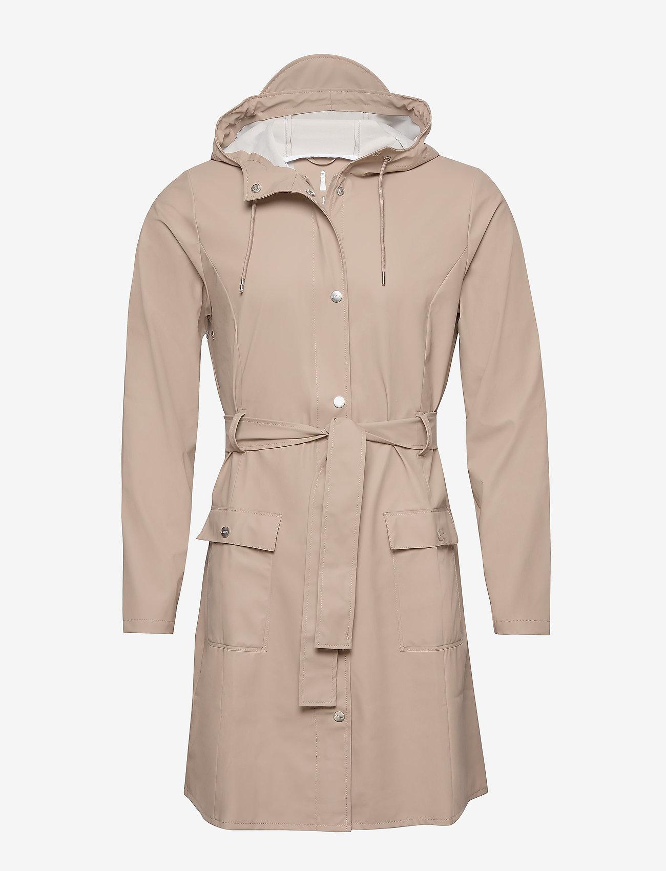 Rains - Curve Jacket - regenbekleidung - 35 beige - 0