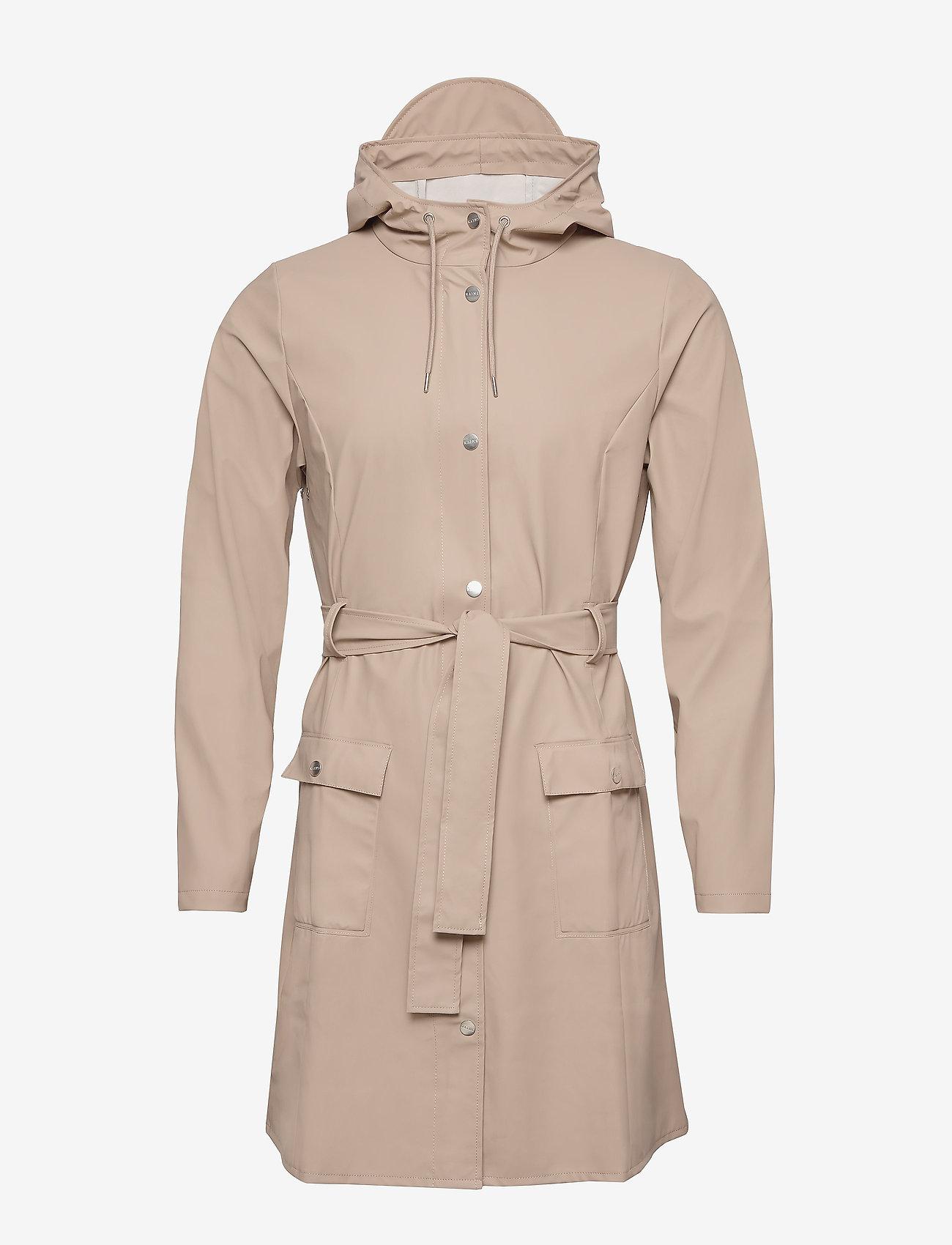 Rains - Curve Jacket - regenbekleidung - 35 beige - 1