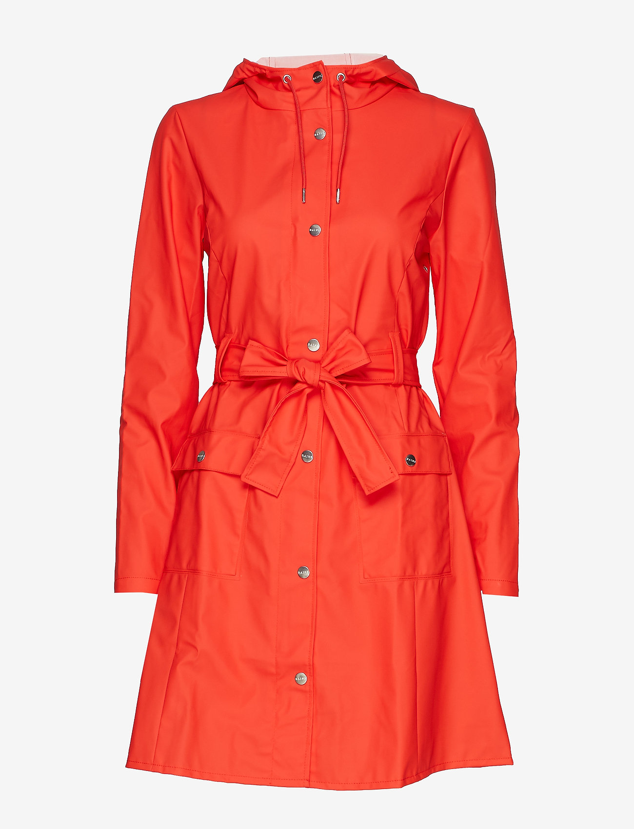 Rains - Curve Jacket - sadevaatteet - red - 1