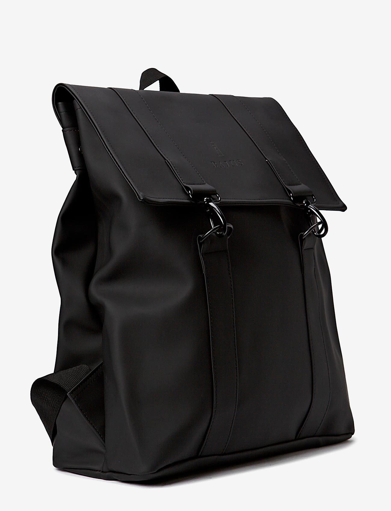 Rains - Msn Bag - rucksäcke - 01 black - 1