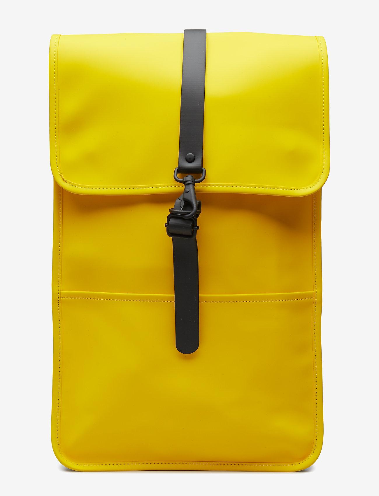 Rains - Backpack - rucksäcke - 04 yellow - 0