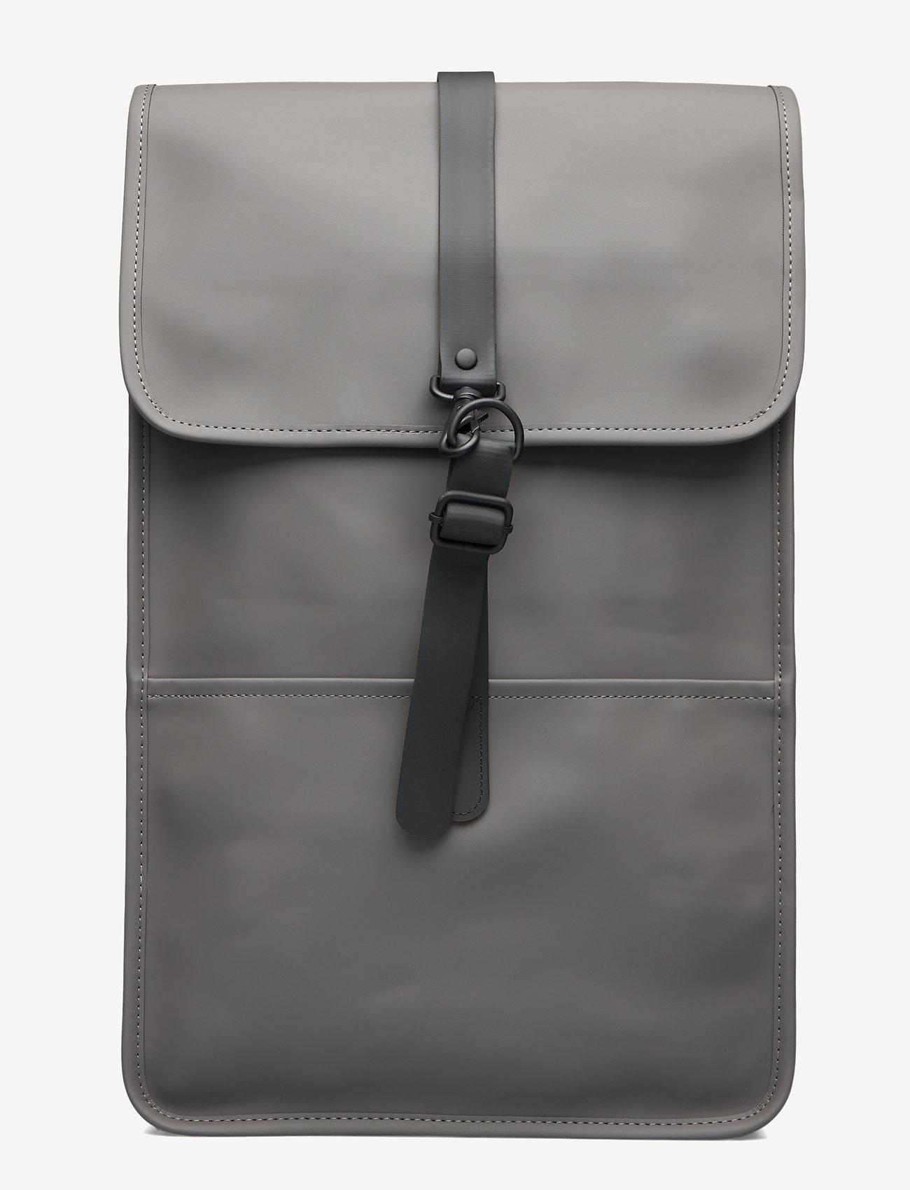 Rains - Backpack - rucksäcke - 18 charcoal - 1