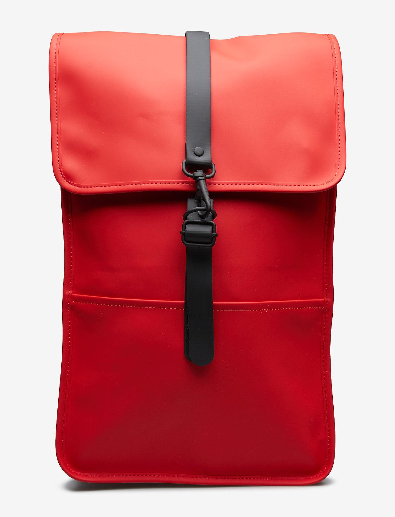 Rains - Backpack - rucksäcke - red - 0
