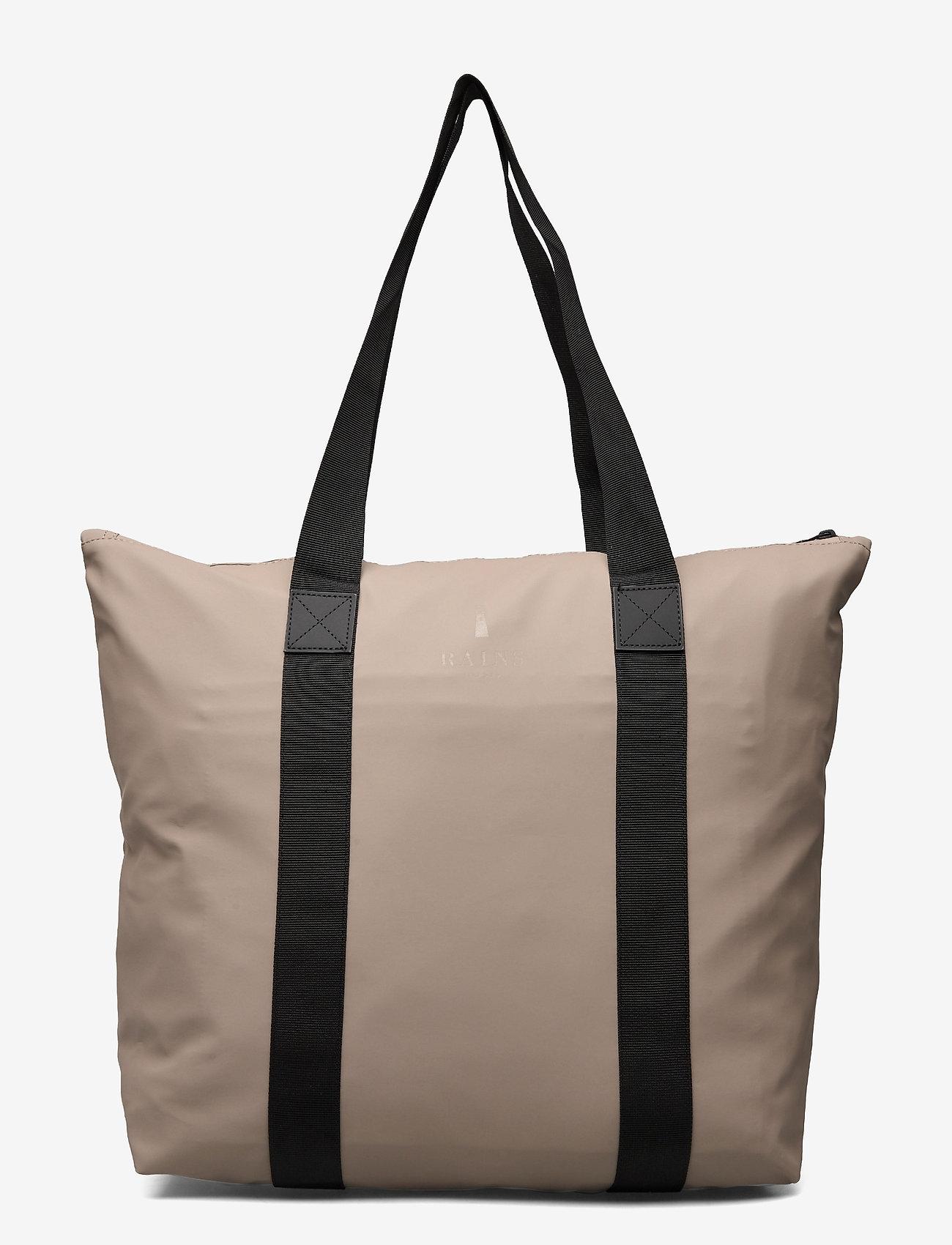 Rains - Tote Bag Rush - viikonloppulaukut - 17 taupe - 1