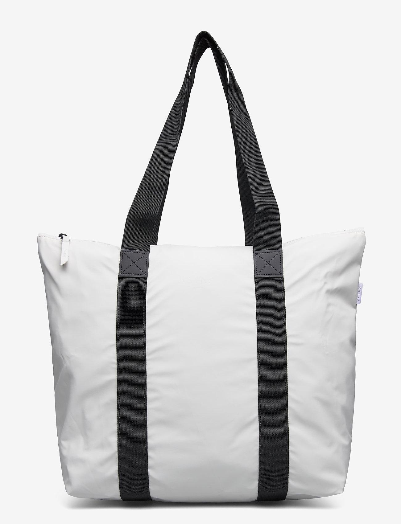 Rains - Tote Bag Rush - viikonloppulaukut - 58 off white - 0