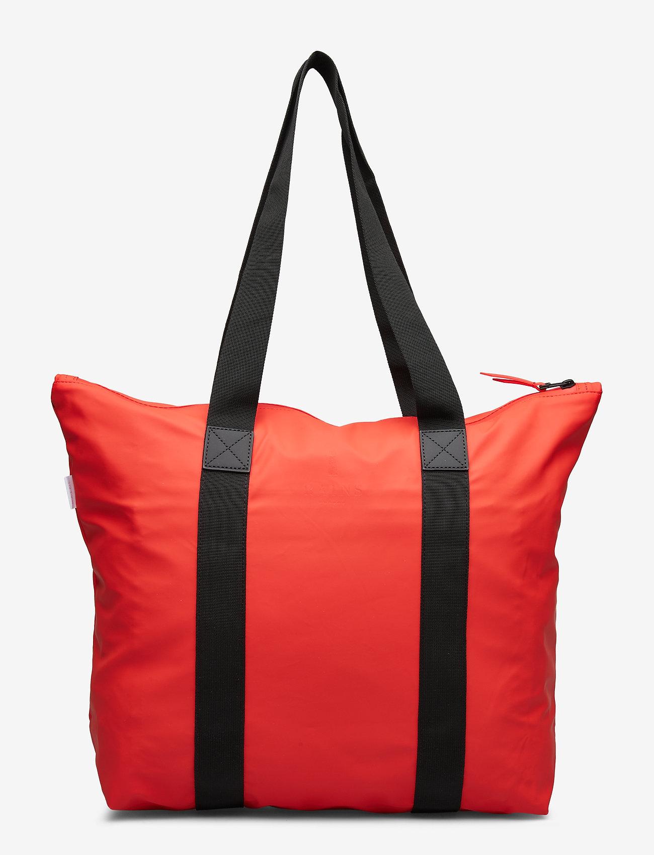 Rains - Tote Bag Rush - casual shoppers - red - 1