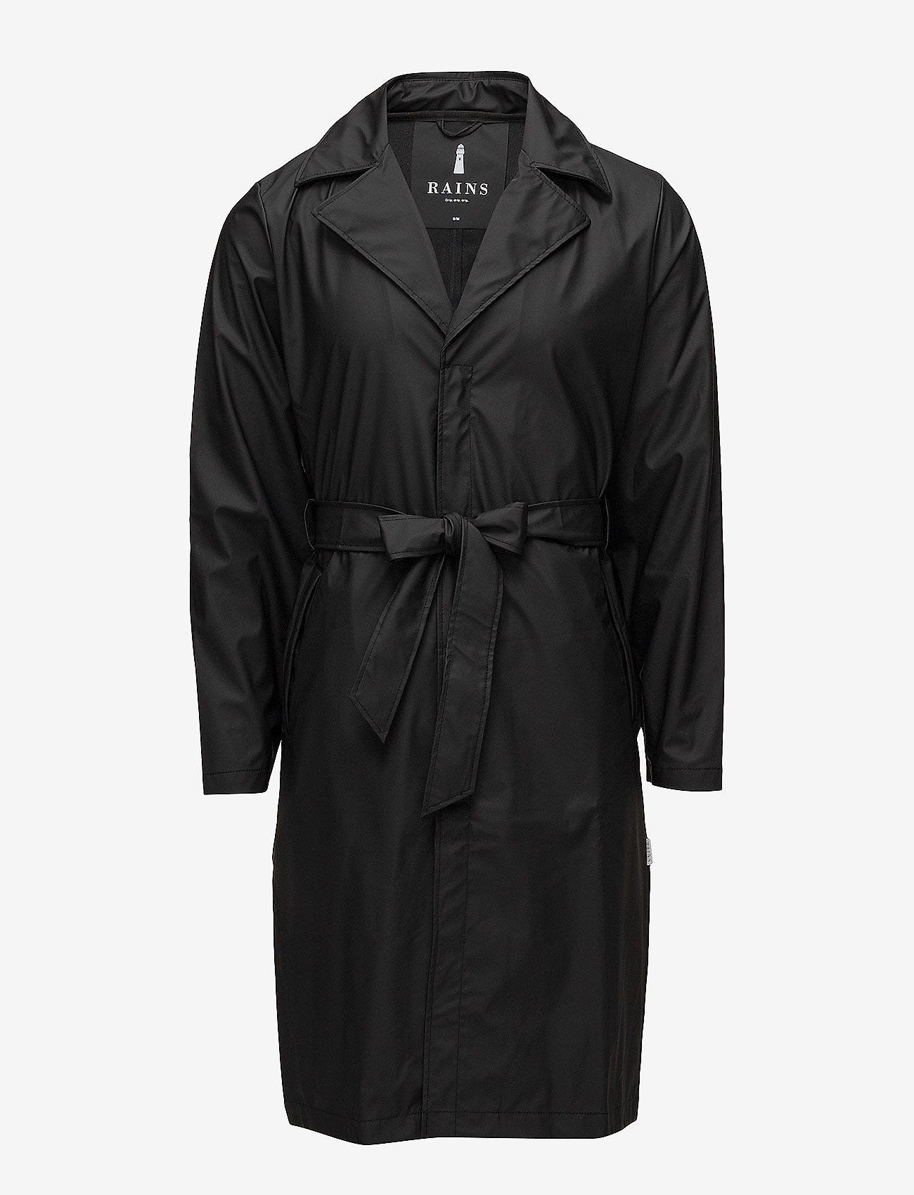 Rains - Overcoat - regenbekleidung - 01 black - 0