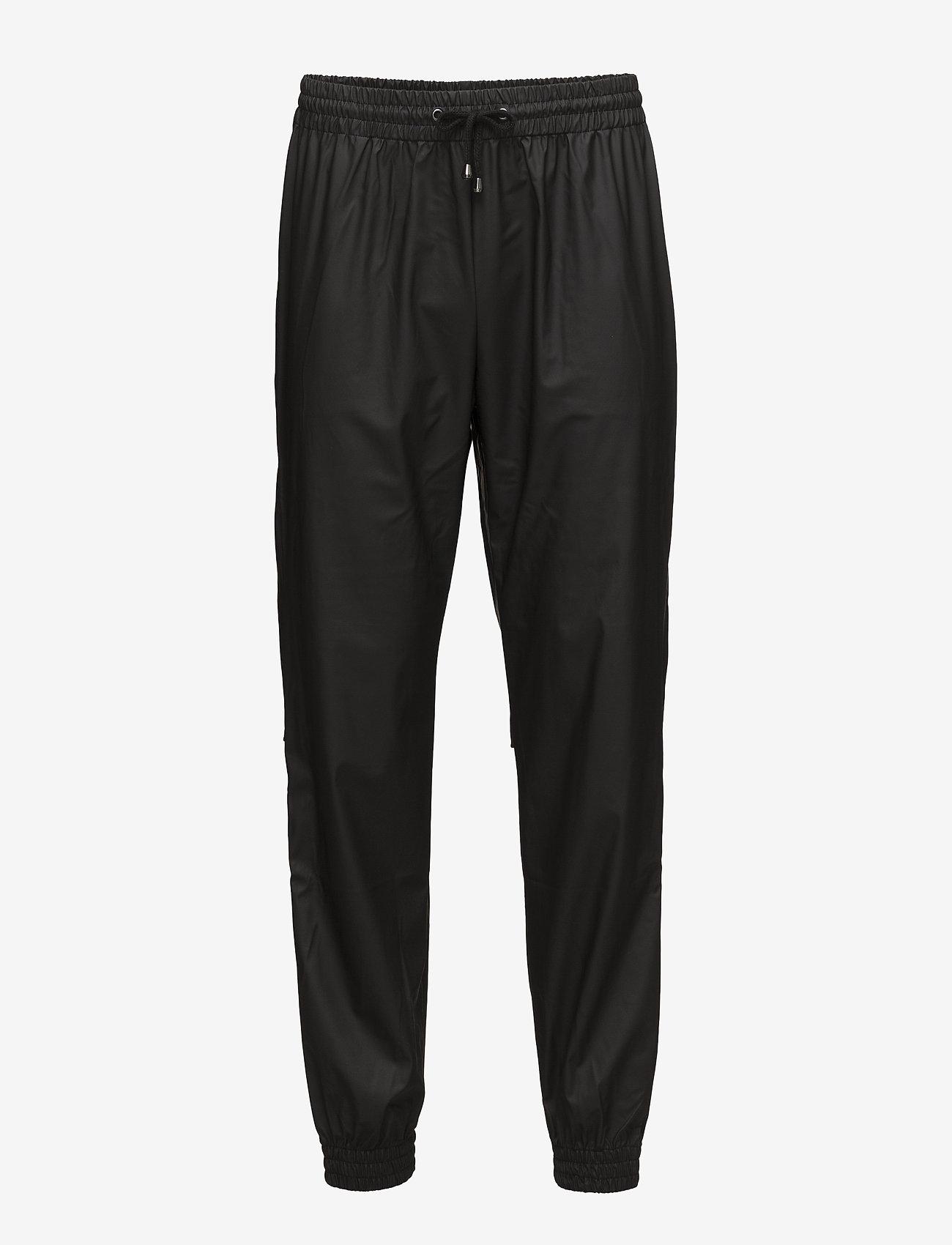 Rains - Trousers - regnbukser - 01 black - 1