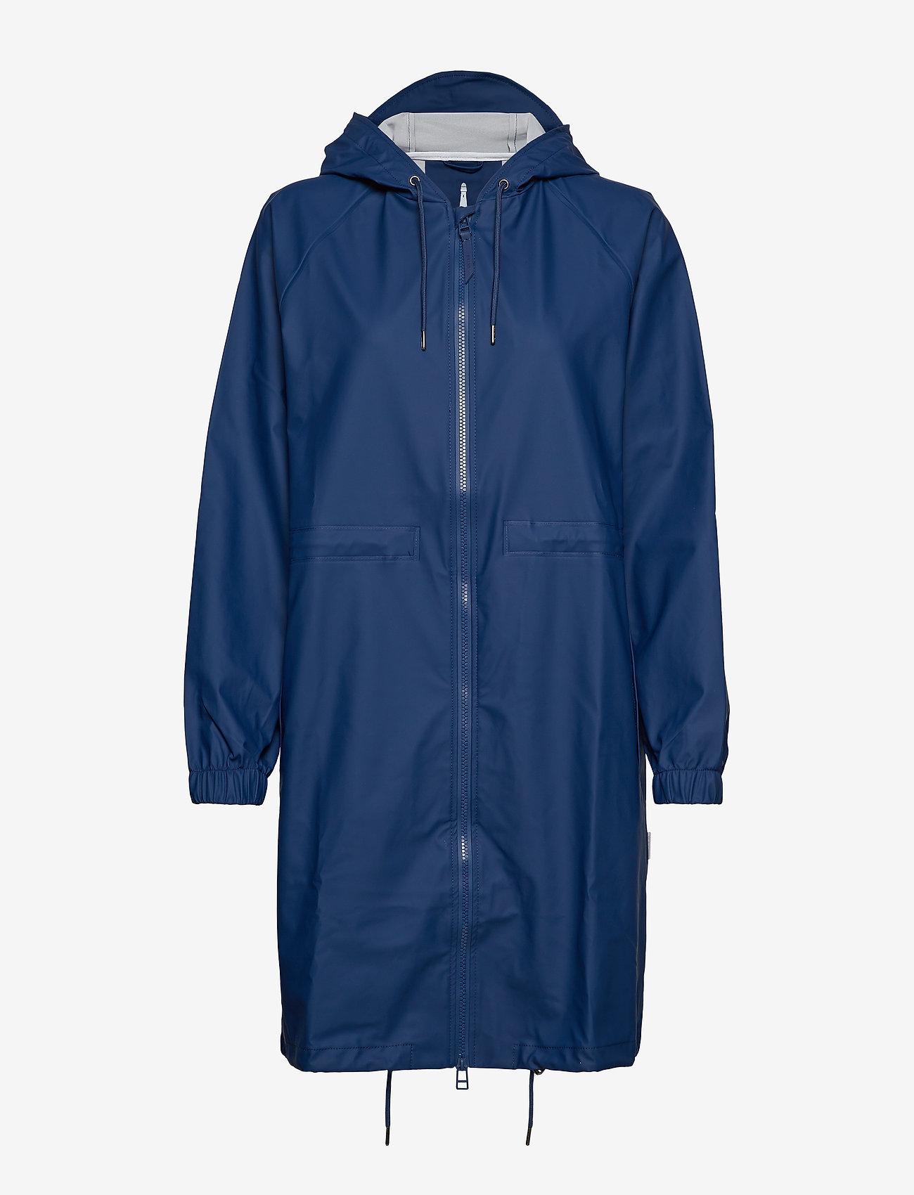 Rains - Long W Jacket - regenbekleidung - klein blue - 1