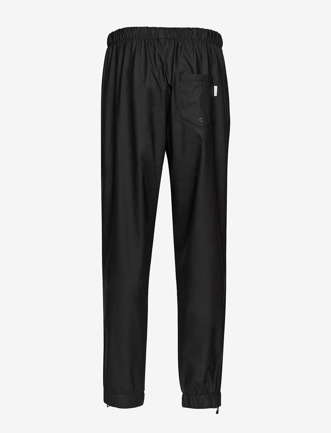 Rains - Pants - regenbekleidung - 01 black - 1