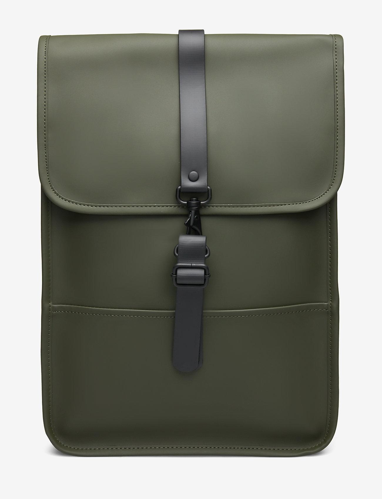 Rains - Backpack Mini - rucksäcke - green - 0