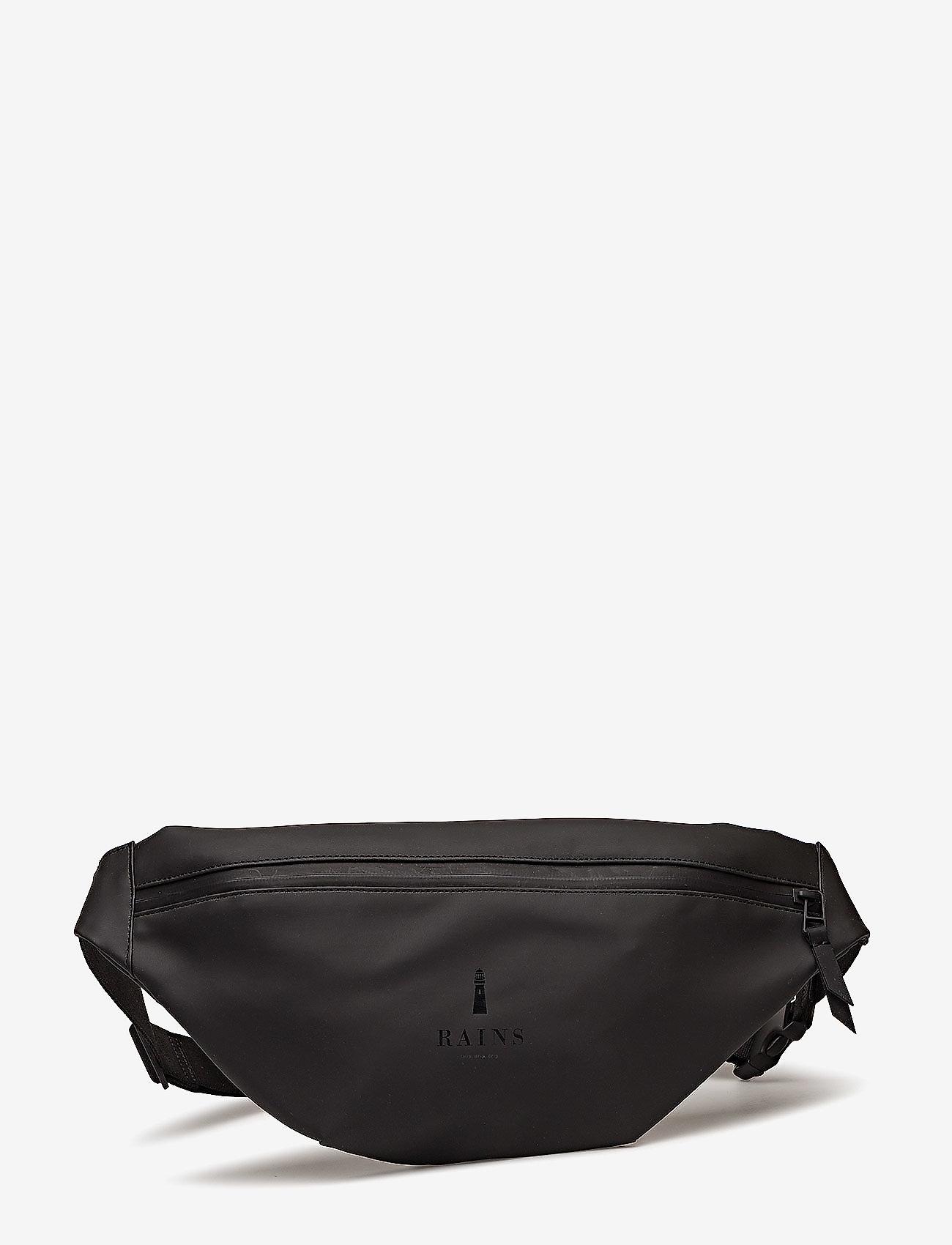 Rains - Bum Bag - heuptassen - 01 black - 0