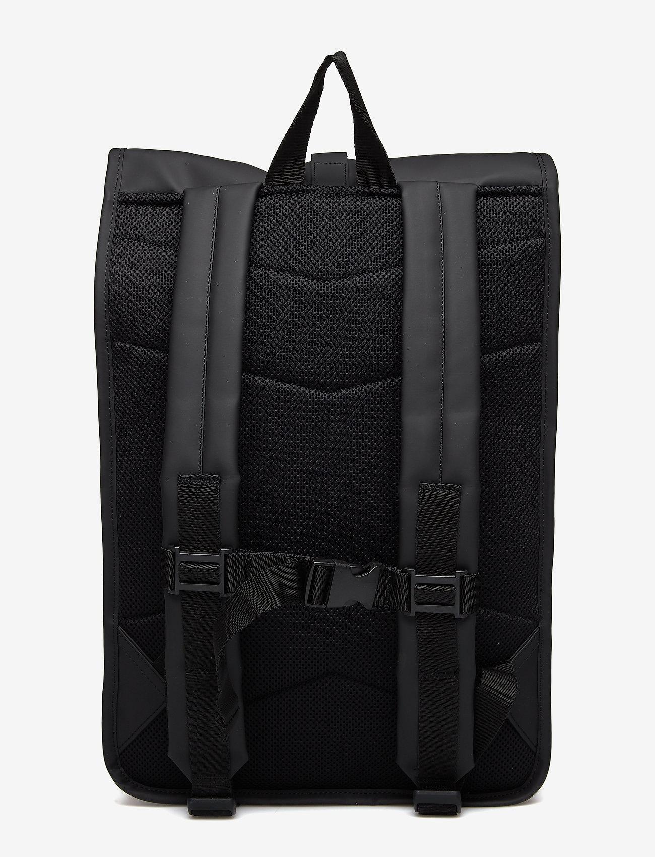 Rains - Rolltop Rucksack - sacs à dos - 01 black - 1