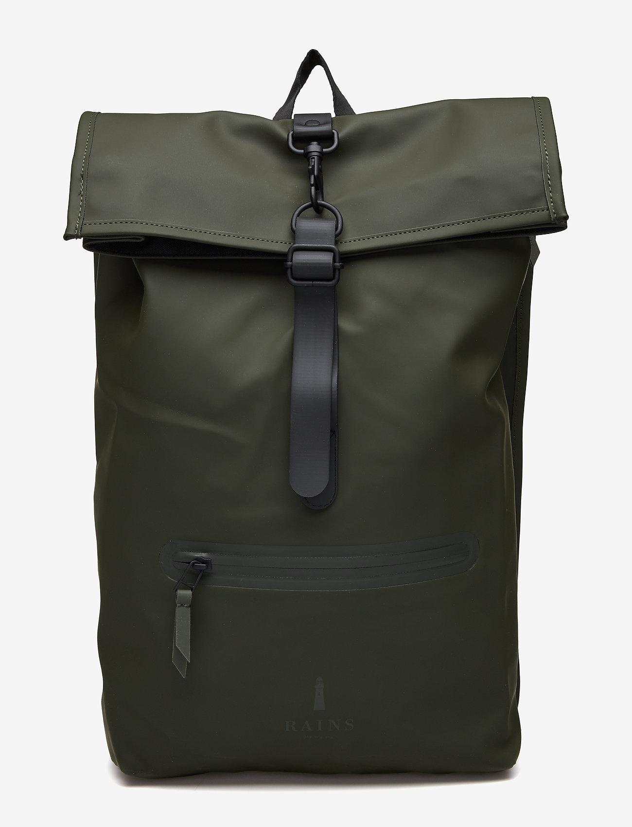 Rains - Rolltop Rucksack - sacs à dos - 03 green - 0