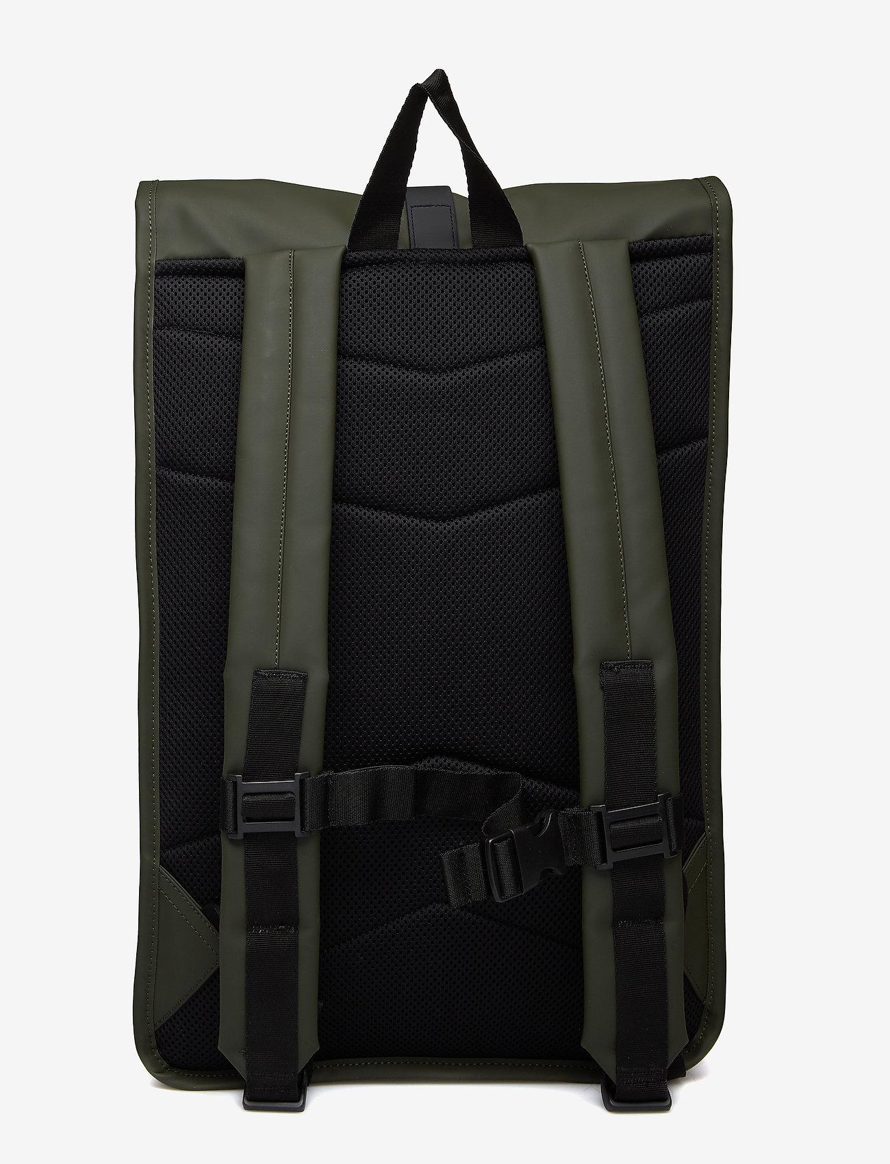 Rains - Rolltop Rucksack - sacs à dos - 03 green - 1
