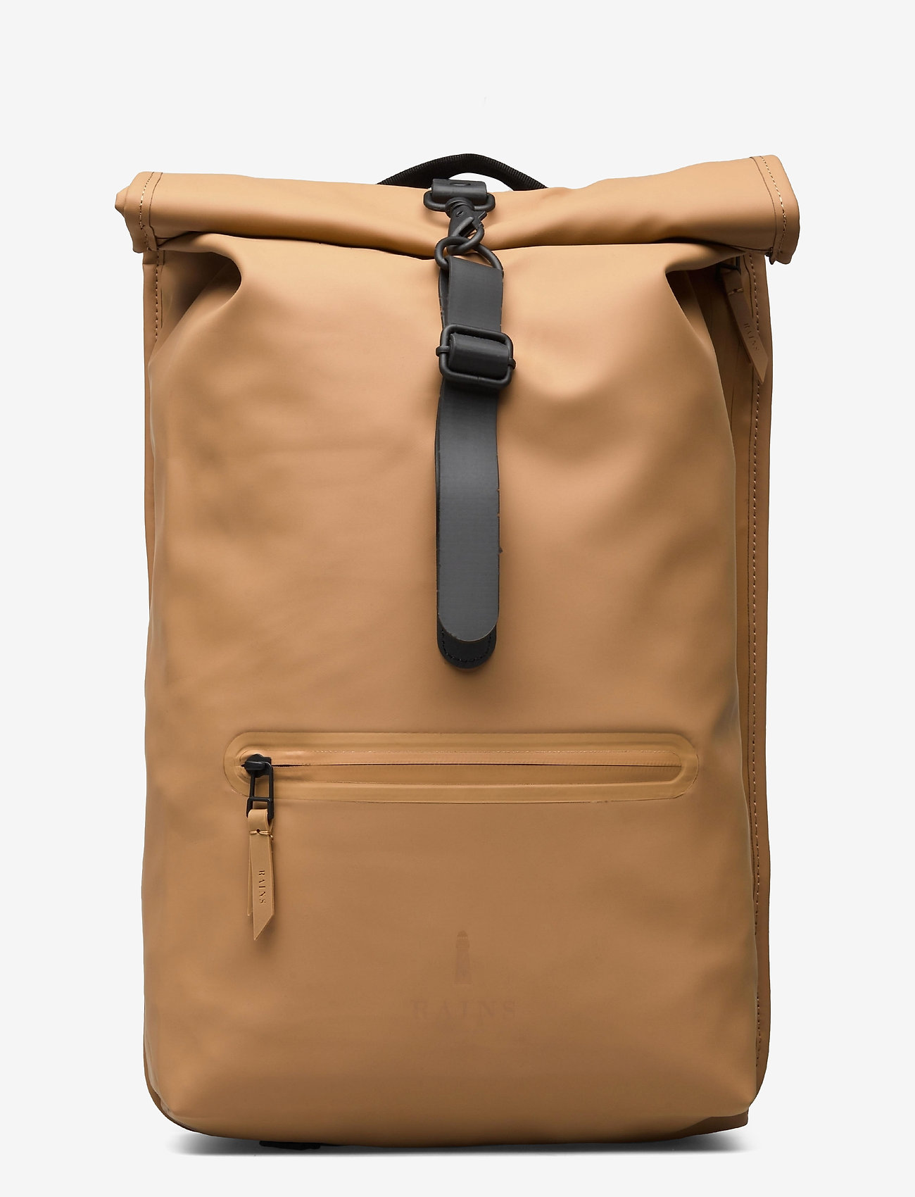 Rains - Rolltop Rucksack - sacs à dos - 49 khaki - 0