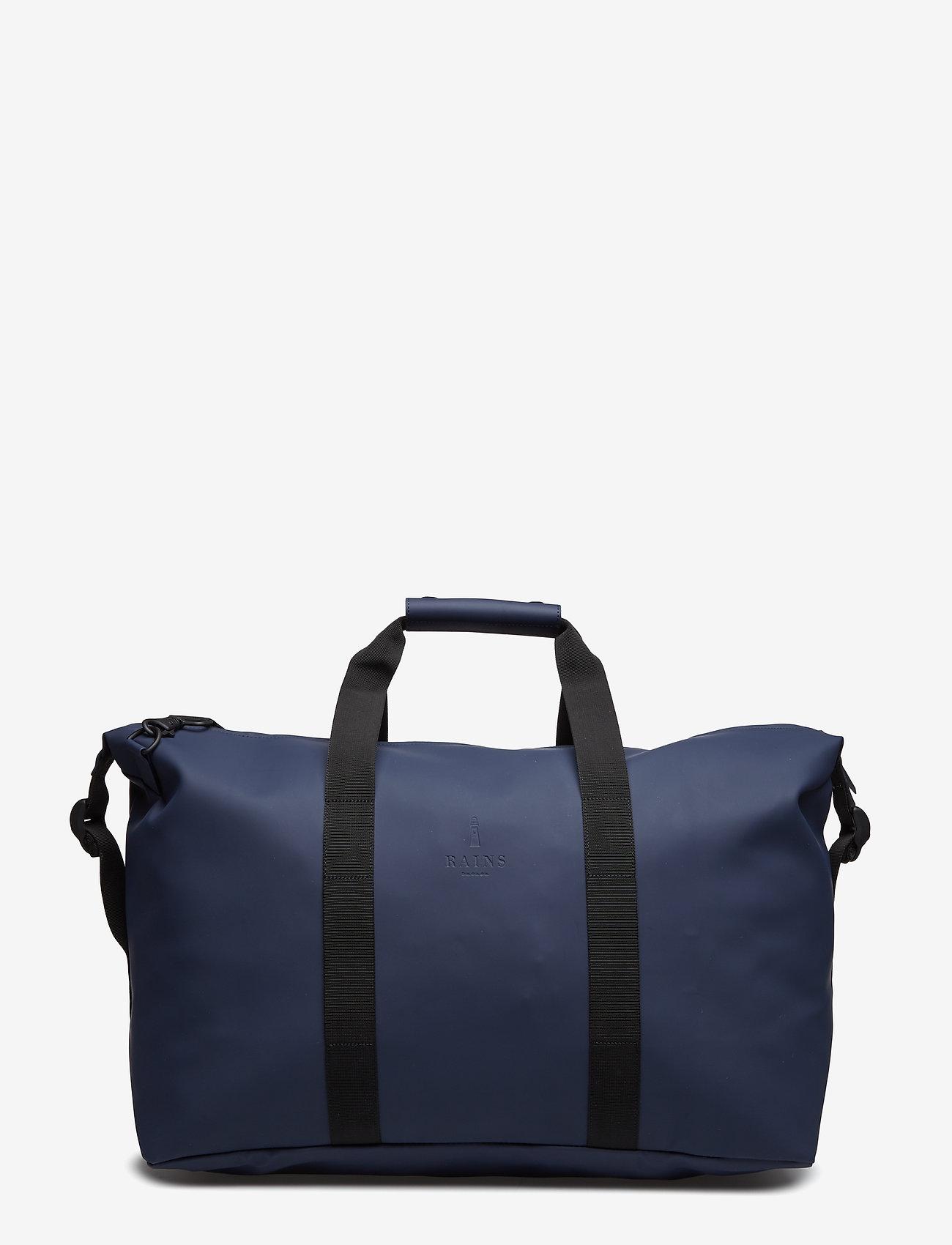 Rains - Weekend Bag - matkalaukut - 02 blue - 1