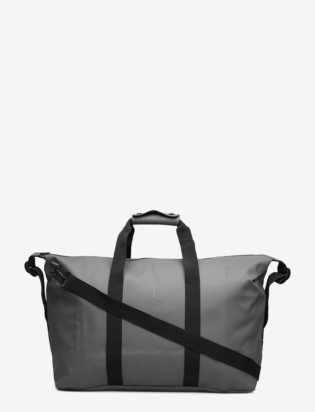 Rains - Weekend Bag - matkalaukut - charcoal - 0