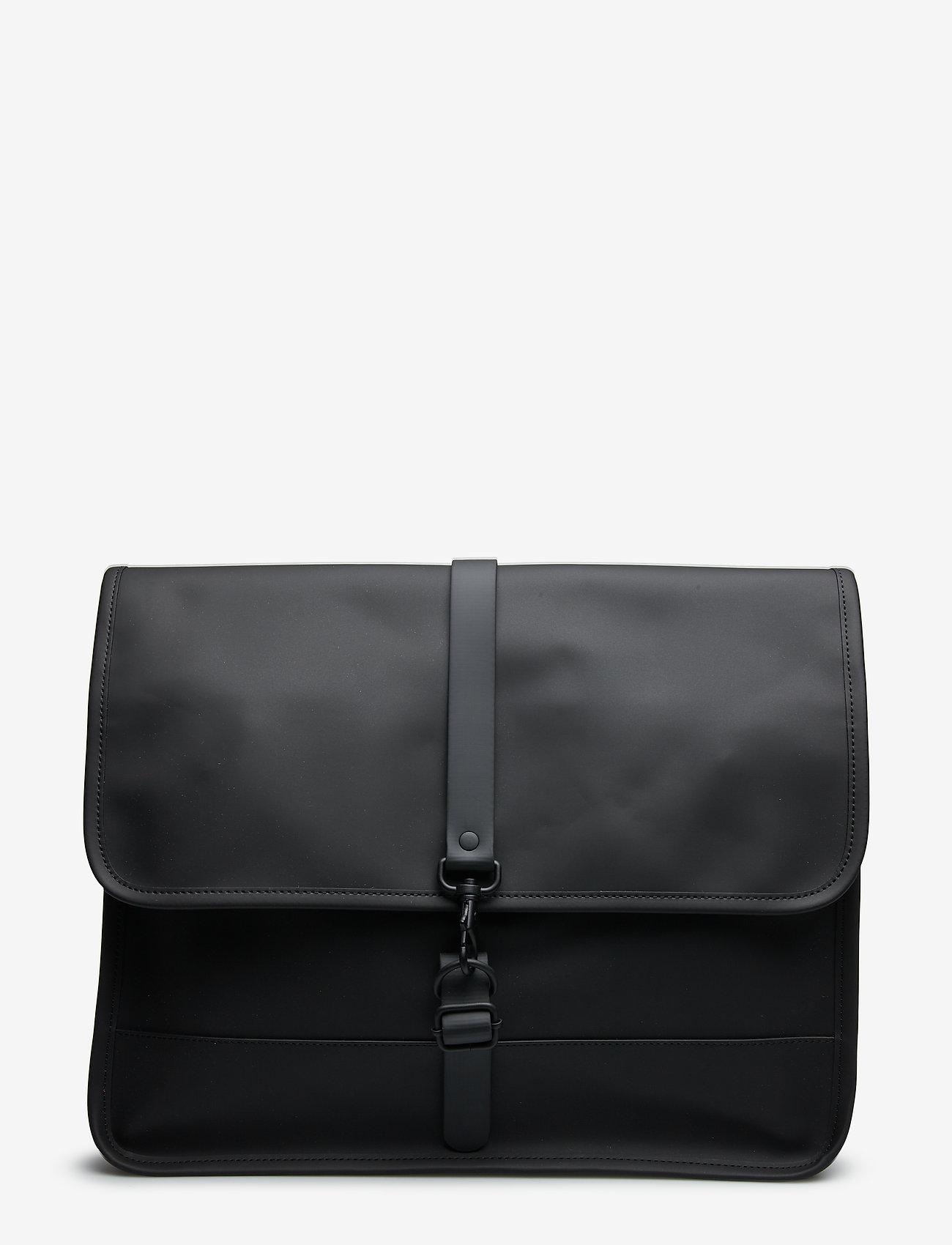 Rains - Commuter Bag - laptoptassen - black - 0
