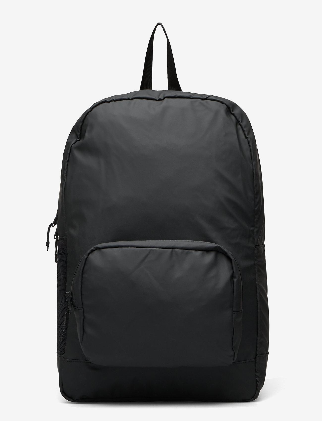 Rains - Ultralight Daypack - rucksäcke - 01 black - 0