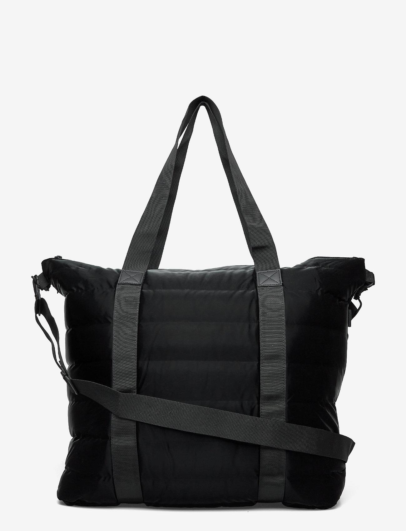 Rains - Tote Bag Quilted - weekend bags - 29 velvet black - 0