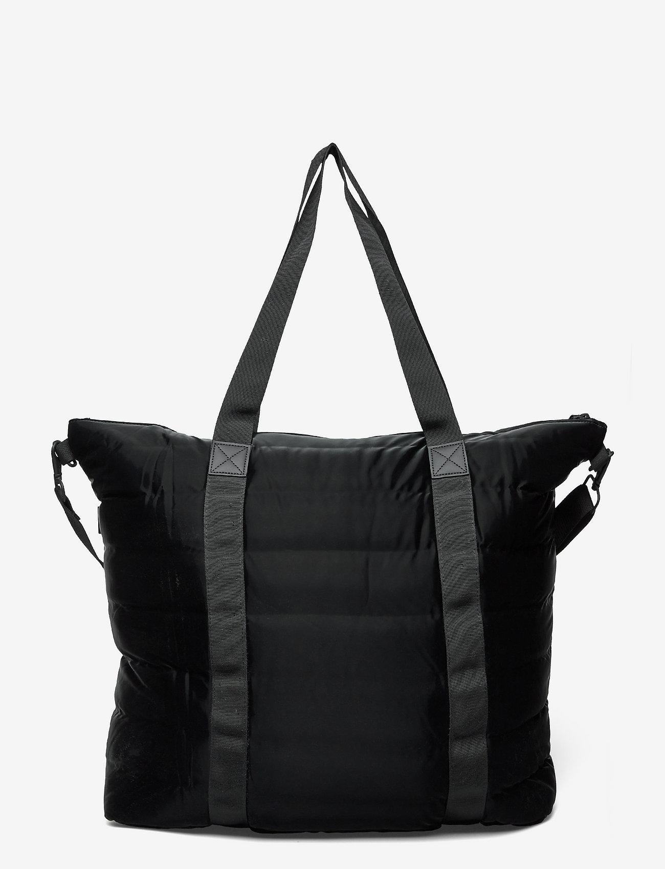 Rains - Tote Bag Quilted - weekend bags - 29 velvet black - 1