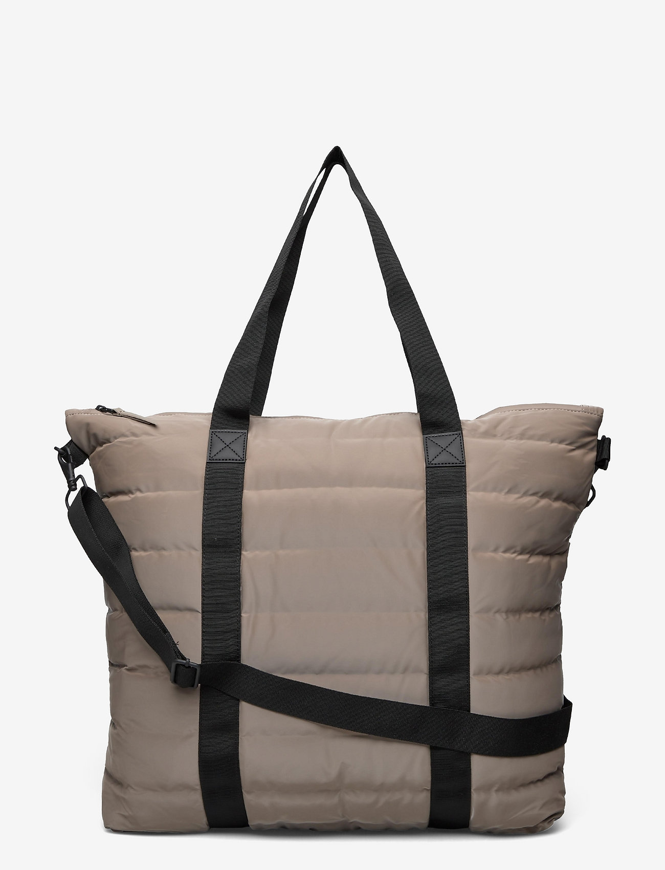 Rains - Tote Bag Quilted - weekend bags - 33 velvet taupe - 0
