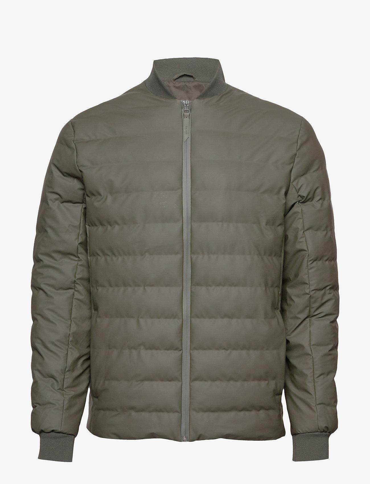 Rains - Trekker Jacket - vestes matelassées - 03 green - 0