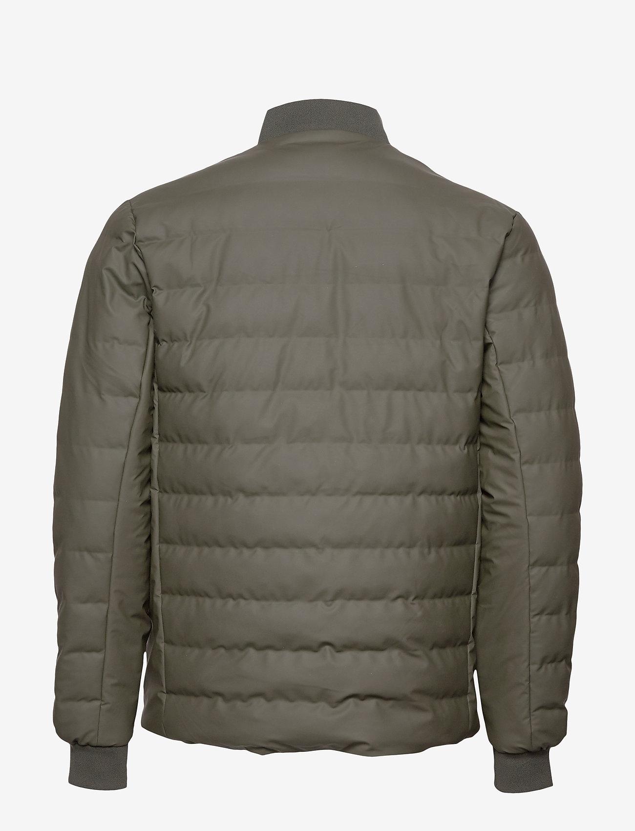 Rains - Trekker Jacket - vestes matelassées - 03 green - 1