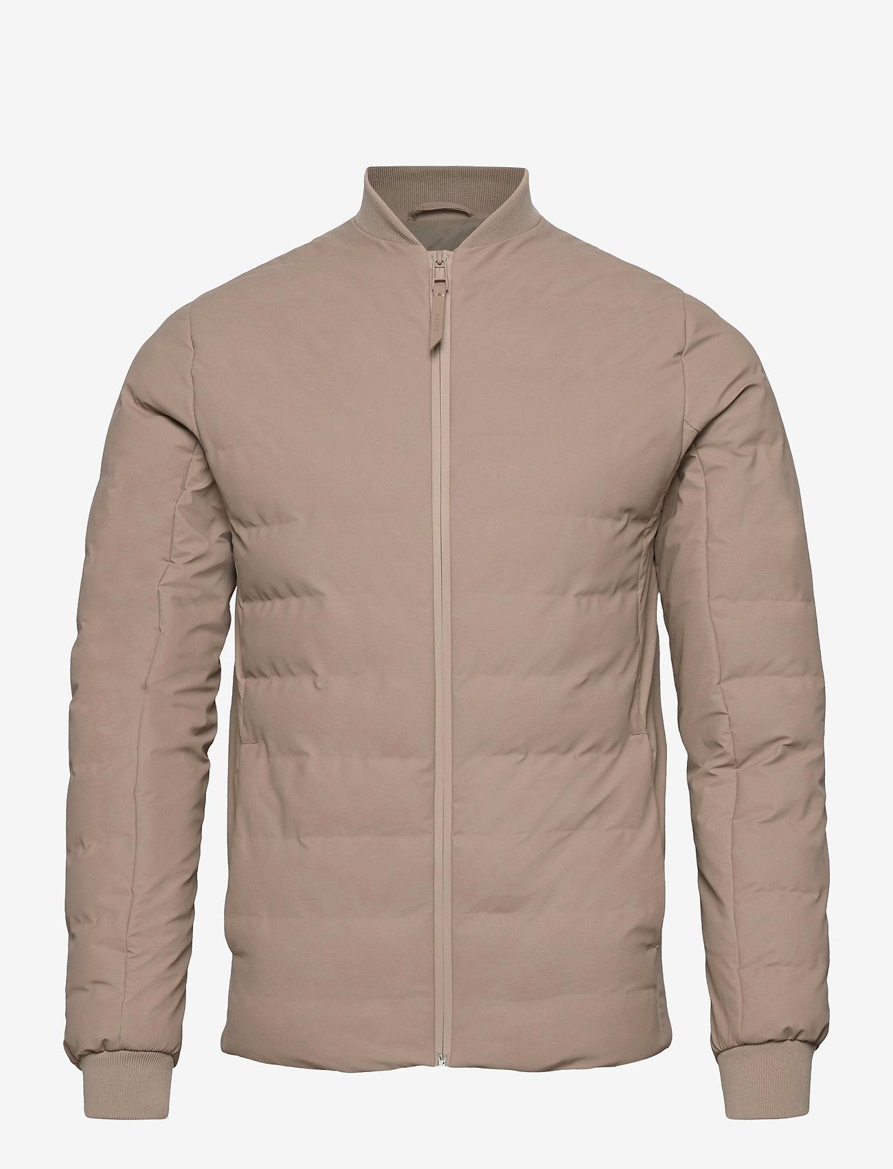 Rains - Trekker Jacket - vestes matelassées - 35 beige - 0