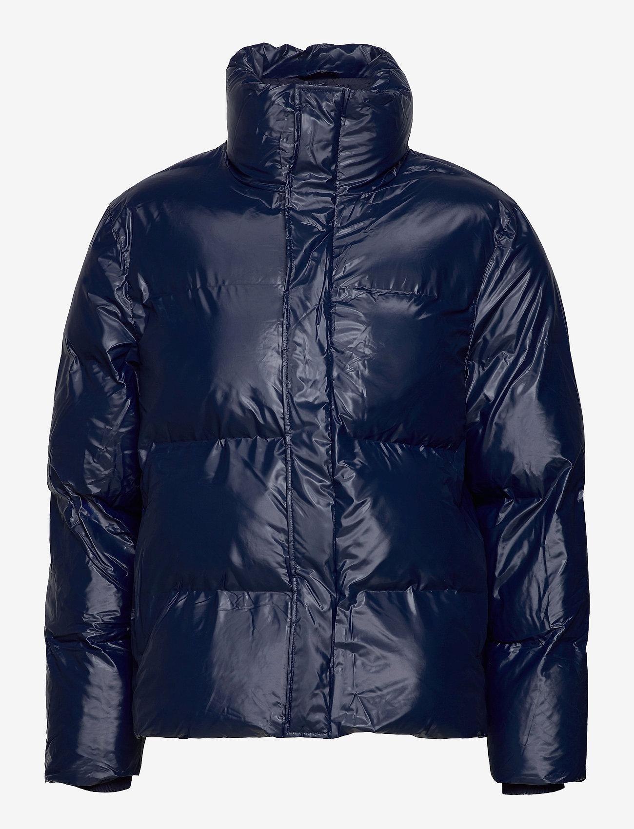 Rains - Boxy Puffer Jacket - vestes matelassées - 07 shiny blue - 0