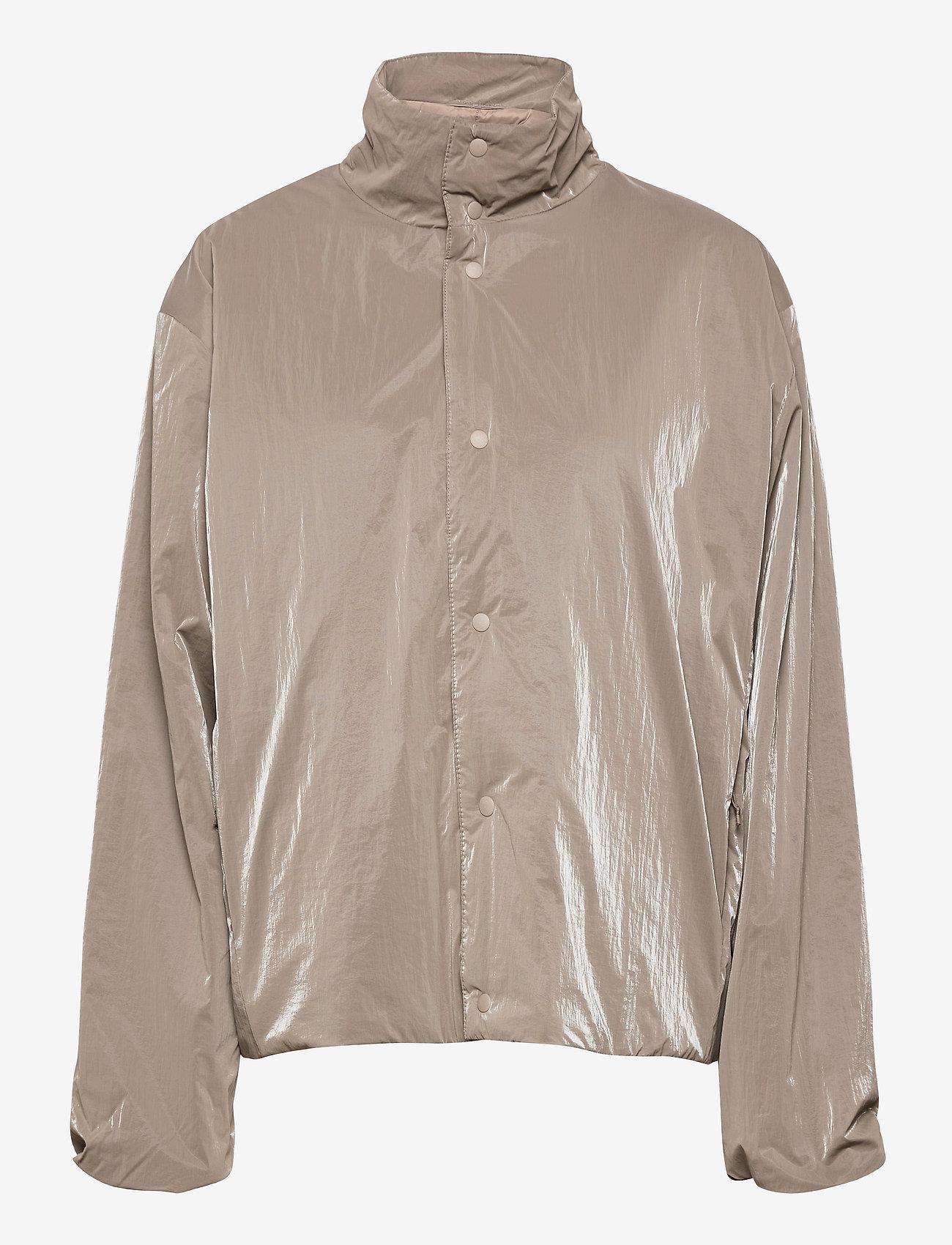 Rains - Drifter Track Jacket - manteaux de pluie - 17 taupe - 0