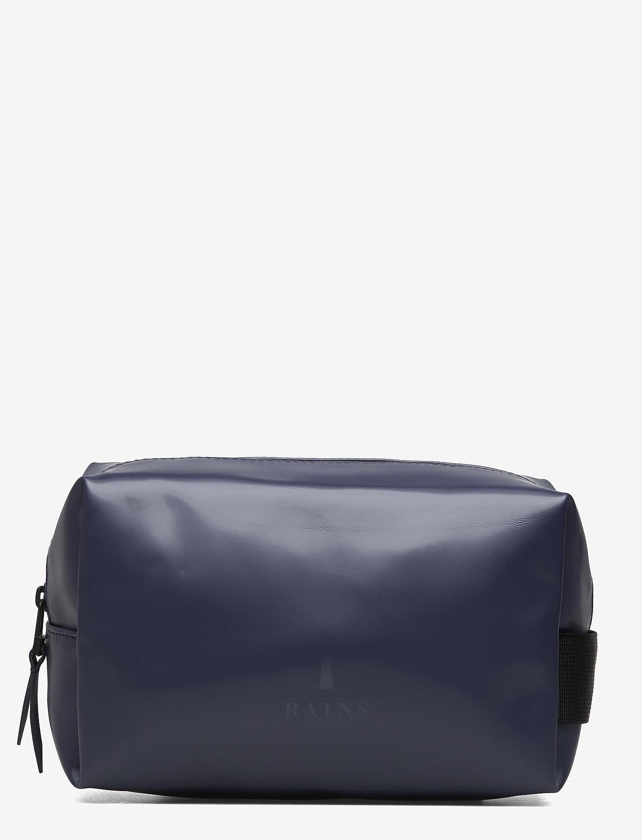 Rains - Wash Bag Small - kulturtaschen - 07 shiny blue - 0