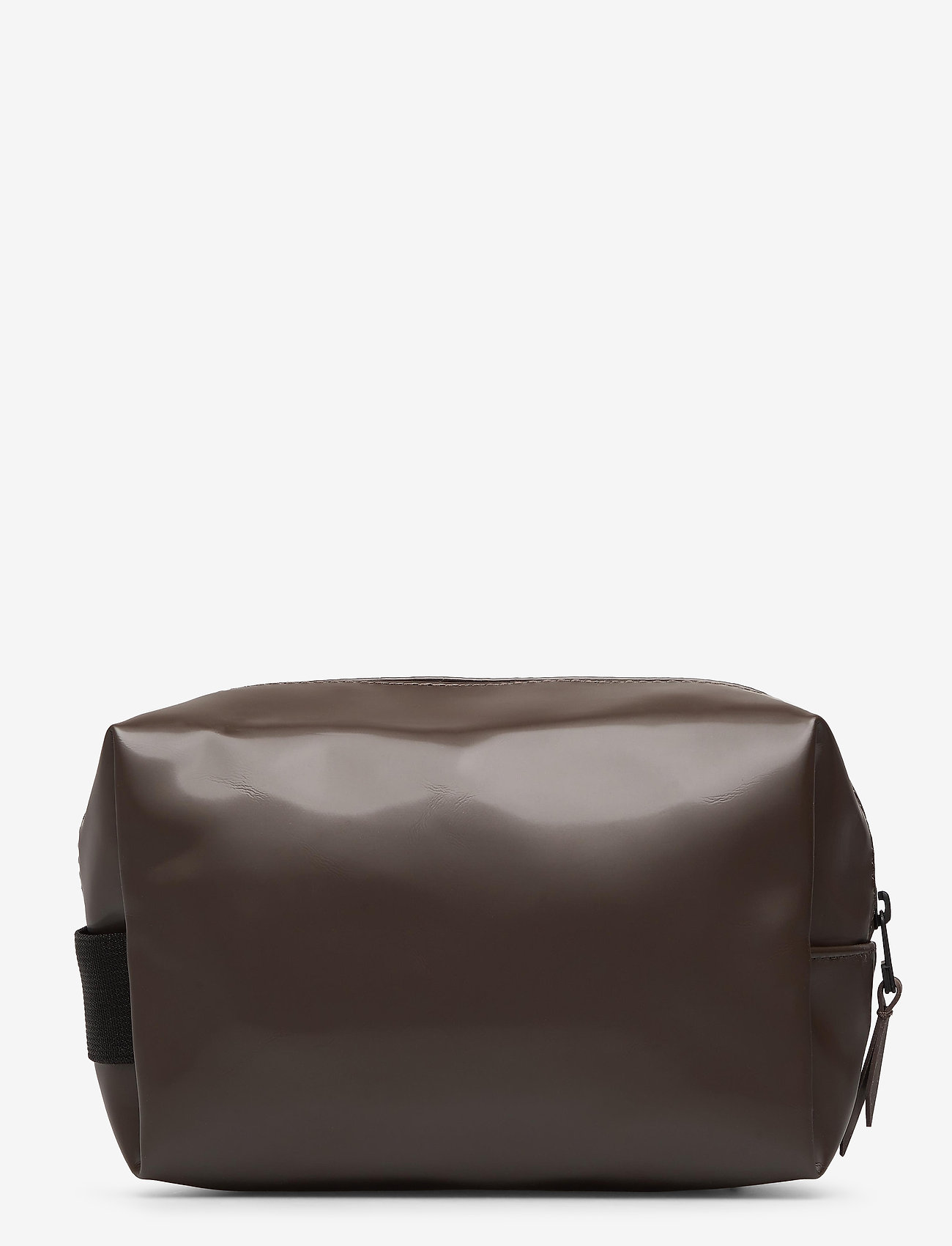 Rains - Wash Bag Small - kulturtaschen - shiny brown - 1