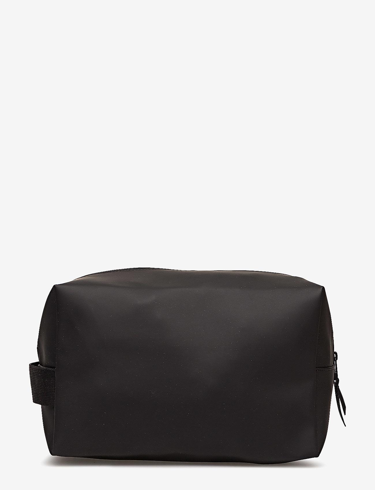 Rains - Wash Bag Large - kulturtaschen - 01 black - 1