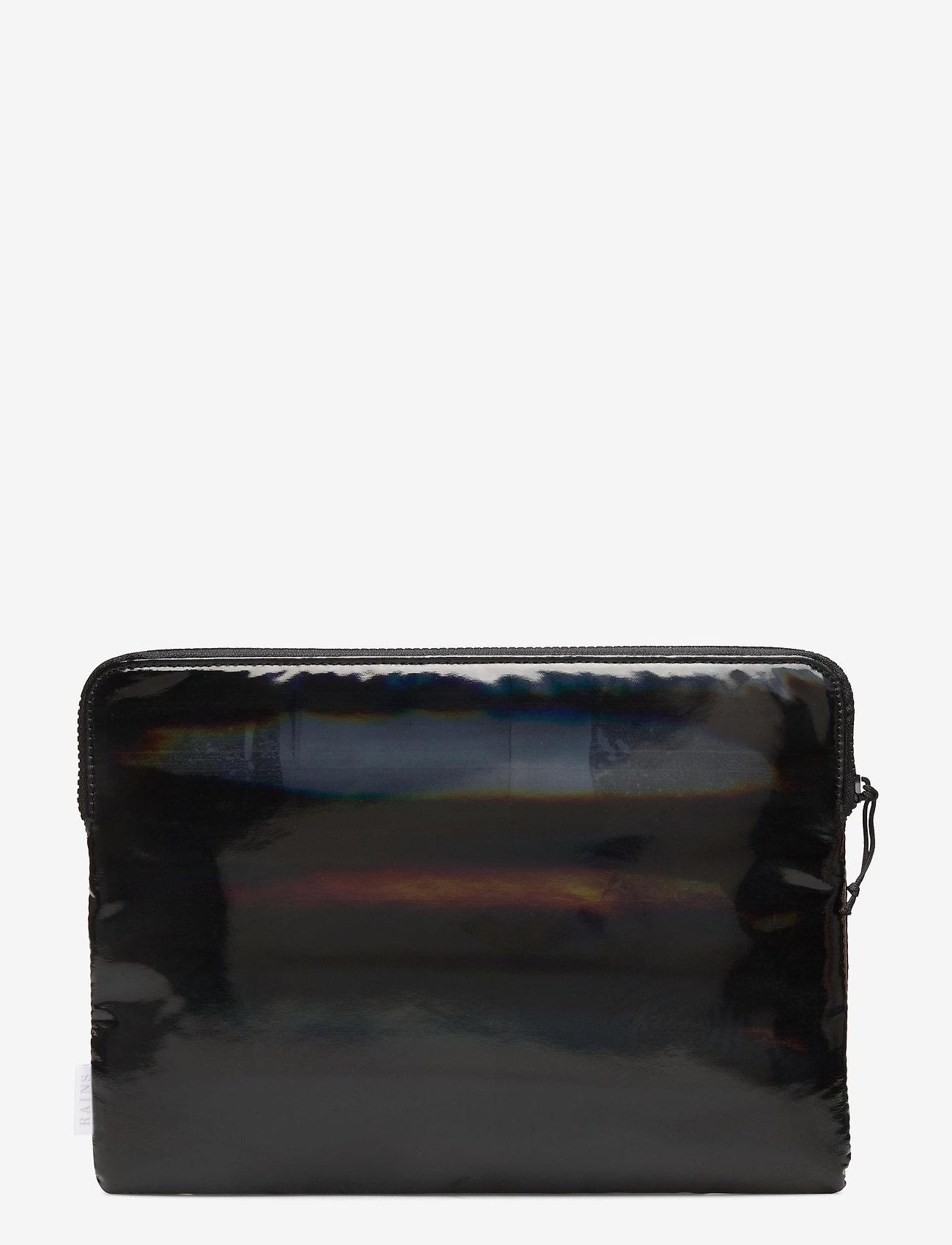 "Rains - Laptop Cover 11"" - laptoptassen - holographic black - 1"